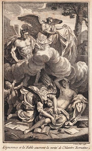 2) Louis de Beaufort, Dissertation sur l'incertitude des cinq premiers siècles de l'histoire Romaine, 1735