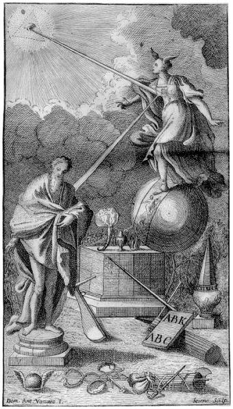 Frontispiece van Giambattista Vico's Scienza Nuova